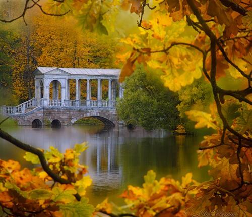 Осень, отдых ,в России