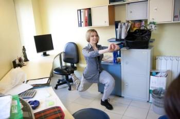 упражнения для офиса