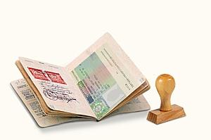 заявление, получение визы