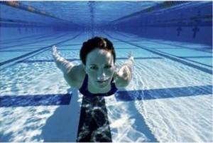 плавание - фото