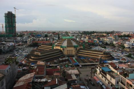 поездка, столицу, Камбоджи, Пном-Пень