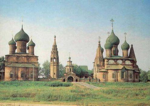 фото, ансамбля церквей, в Коровниках