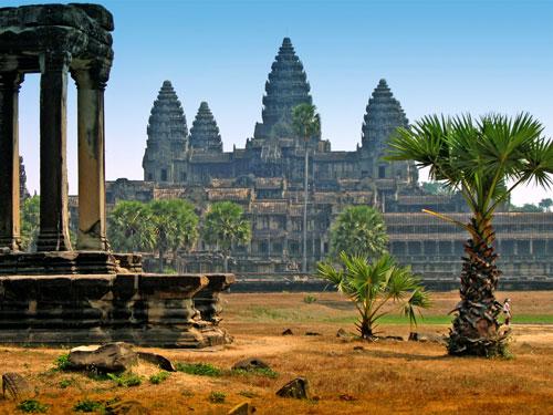 храмы, Камбоджа, фото